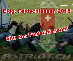 Eidg. Feldschiessen 2018 – Alle ans Feldschiessen!