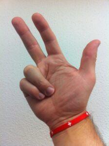 Rütlischwur, linke oder rechte Hand ?