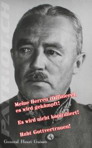 General Henri Guisan - Es wird nicht kapituliert!