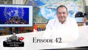 Jürg Lauber Schweizer UNO Botschafter wird von der SVP angezeigt sollte er Unterschreiben!