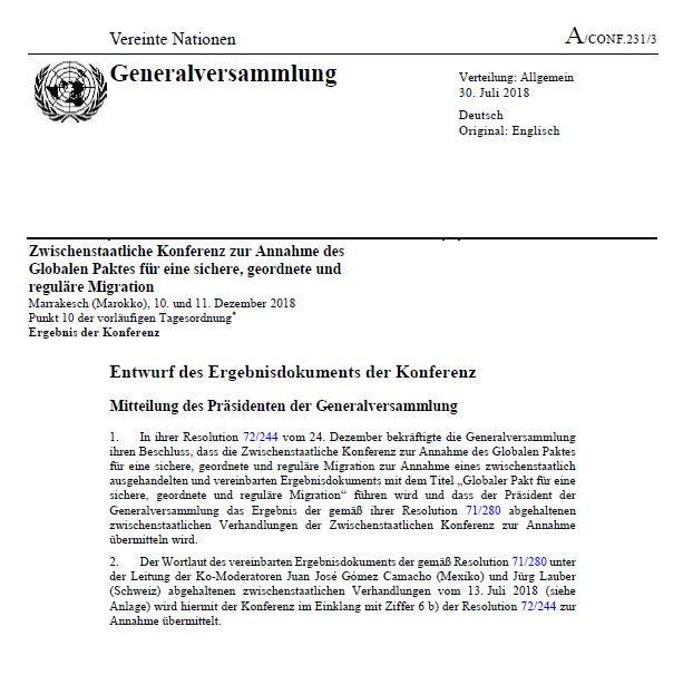Hier der gefährliche UNO-Migrationspakt auf Deutsch als PDF zum selber nachlesen