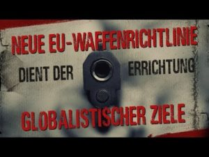 Neue EU-Waffenrichtlinie dient der Errichtung globalistischer Ziele
