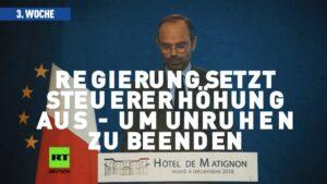 Chronologie der Gelbwesten: Wachsender Zulauf – selbst nach der neunten Woche