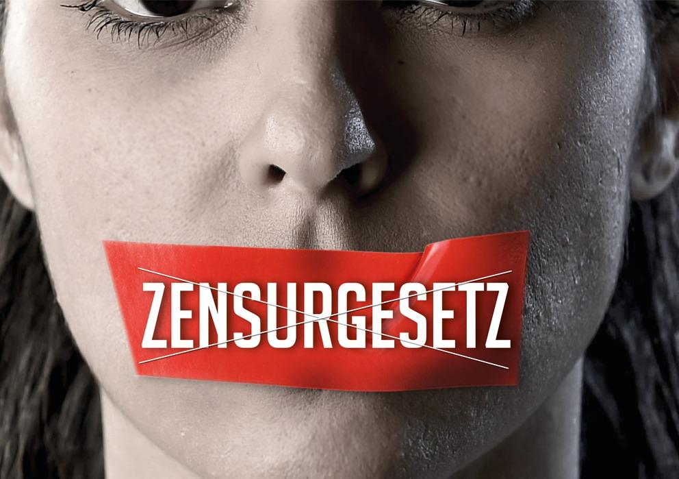 Nein zum ZENSURGESETZ !
